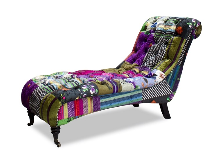 Patchwork chaise - Chaise anders patchwork ...
