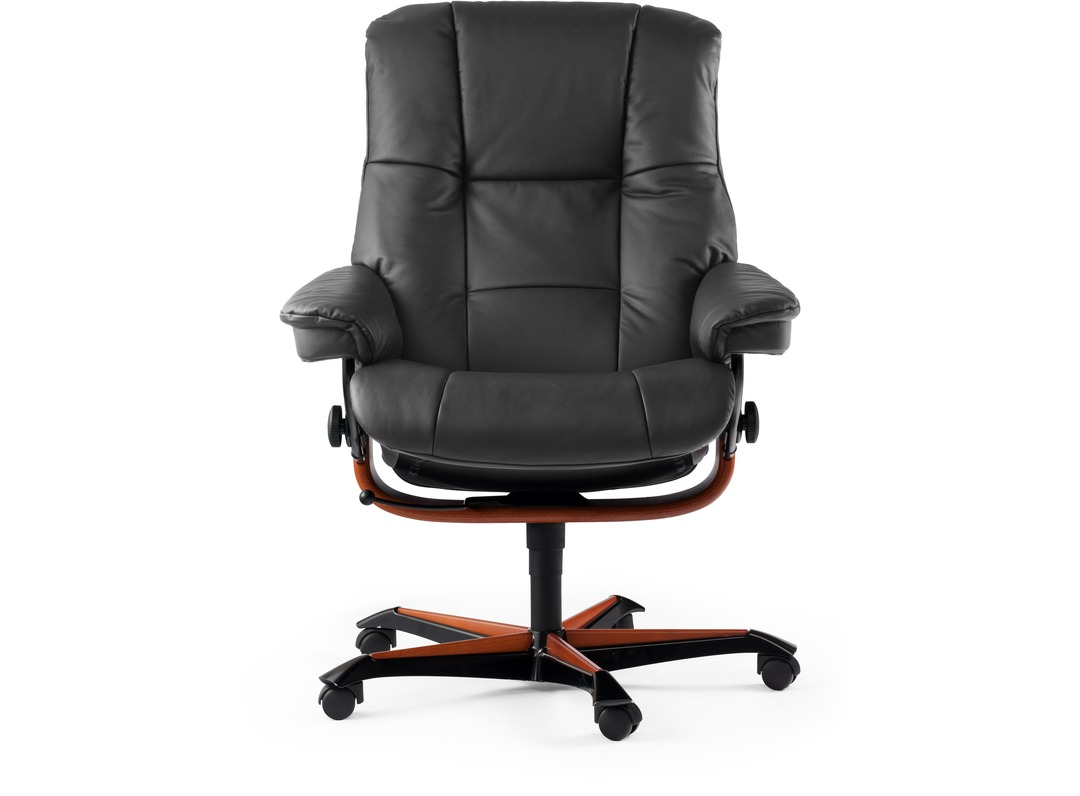 Stressless mayfair home office chair for Comfortable armchair