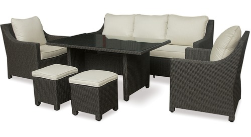 Outdoor Dining Settings & Lounge Suites
