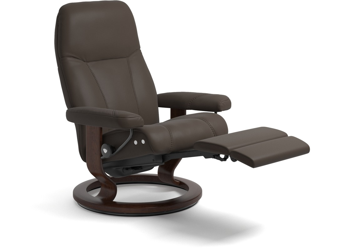 Stressless 174 Consul Leather Recliner Legcomfort