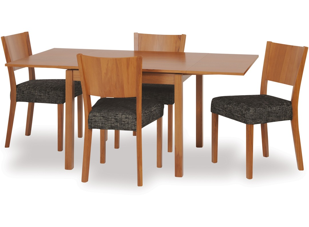 Dinex extension dining table kia chairs