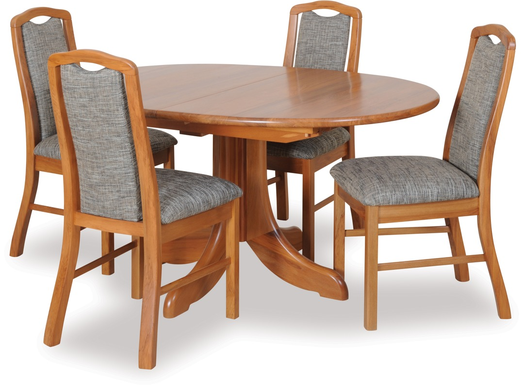 Casino extension dining table madeira chairs
