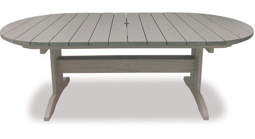 Pacific 2200 Oval Extension Outdoor Table
